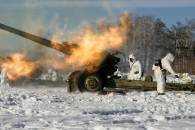 обстріл АТО зима