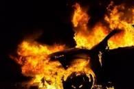 На Береговщине огонь уничтожил автомобил…