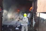 На Раховщине горели склады металлолома (…