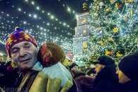 Як на Софійській площі в Києві зустрічали рік Півня