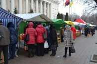 У Кропивницькому проводять передріздвяний ярмарок