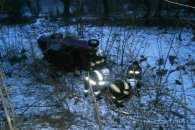 На Кропивниччині в результаті ДТП водія заблокувало в розбитому авто