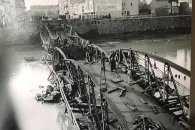 Як виглядав пішохідний міст в Ужгороді після війни