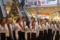 Різдвяний флешмоб провів Хмельницький Муніципальний Камерний Хор