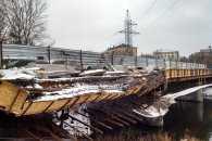 У Харкові обвалився міст (ФОТО)