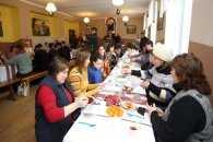 Переселенці на Тернопільщині святкують Свят-вечір
