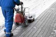 У Кропивницькому власників підприємств, кафе та магазинів попросили прибрати сніг