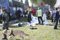 У мережі з'явились перші кадри з місця теракту в Єрусалимі (ФОТО, ВІДЕО)