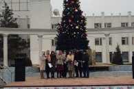 В окупованому Криму Різдво святкували у порожньому фонтані