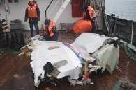 На пляжі санаторію в Сочі виявили останки тіл і уламки Ту-154