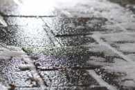 Ужгородські вулиці вкриті шаром льоду