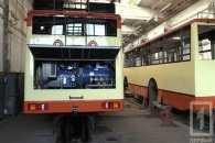 У Кривому Розі знов запускають древній тролейбус без рогів