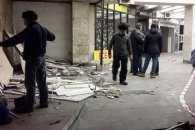 Біля столичної станції метро знову розтрощили МАФи