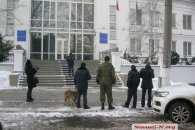 Перед приїздом Порошенка у центрі Миколаєва замінували будівлю