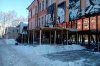 В центрі Миколаєва демонтували літній майданчик