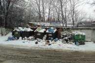 Садовий привітав львів'ян зі старим Новим роком купами сміття (ФОТО)