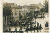 Як на Закарпатті у 1933 році на вулицях плавали у човнах