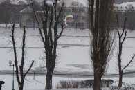 Ужгородський сноукайтингіст політав над Ужем