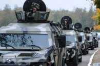 На Миколаївщині та Одещині проїдуть колони військової техніки