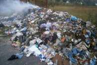 На Житомирщині затримали п'ять фур зі львівським сміттям