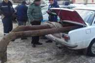 На Сумщині затримали перевізника нелегального металобрухту