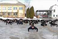 Кропивницькі поліцейські виконали фізичні вправи на підтримку ветеранів АТО