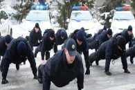 Харківські копи приєдналися до флешмобу в підтримку ветеранів війни (ВІДЕО)