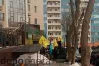 """В Одесі біля консульства Росії триває акція """"Стоп Путін, стоп війна"""" (ФОТО; ВІДЕО)"""