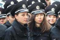 У центрі Дніпра ходили патрульні поліцейські з чорною скринею