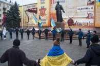 У Чернівцях на День соборності України створили Ланцюг єдності (ФОТО)
