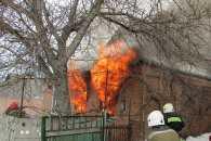 Поблизу Полтави згорів приватний будинок