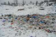 Тернополяни цілодобово охороняють сміттезвалище