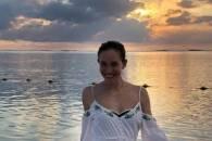 Катя Осадчая засветила фигуру в купальни…