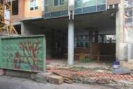 Паркан на скандальному будівництві на Гончара в Києві знесли