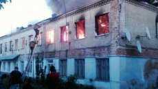 На Вінниччині згорів багатоквартирний будинок