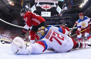"""""""Червона тєлєга"""", ведмеді та санкції. Як інтернет реагував на хокейну поразку Росії"""