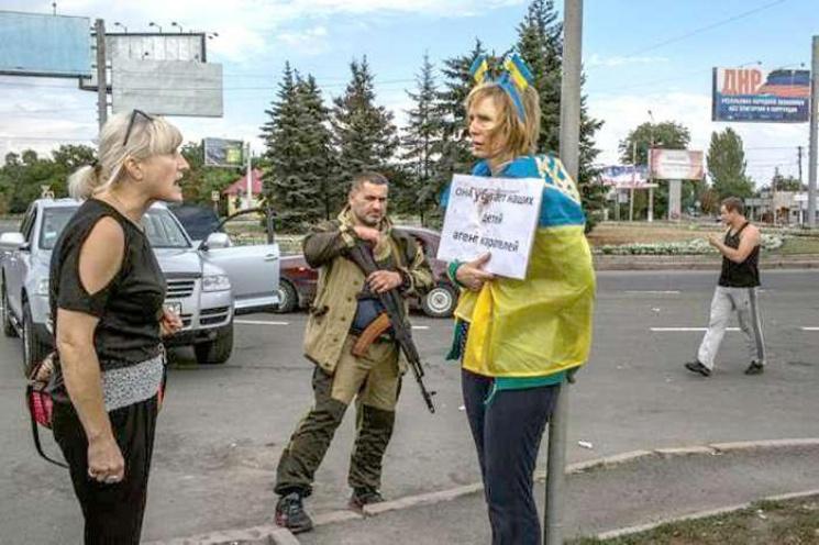 Волонтерка Ірина Довгань