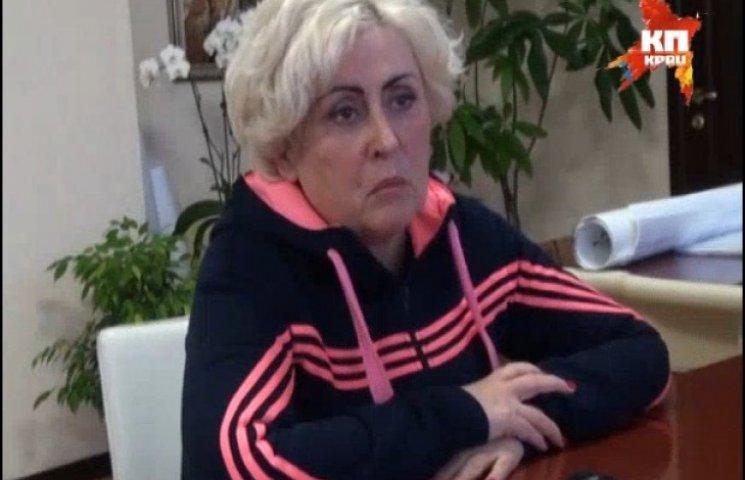 Мэр Славянска в спортивном костюме «легла» под Путина