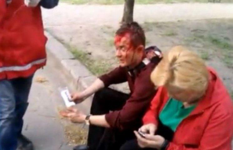 В Харькове «ультрас» подрались с сепаратистами: 14 пострадавших