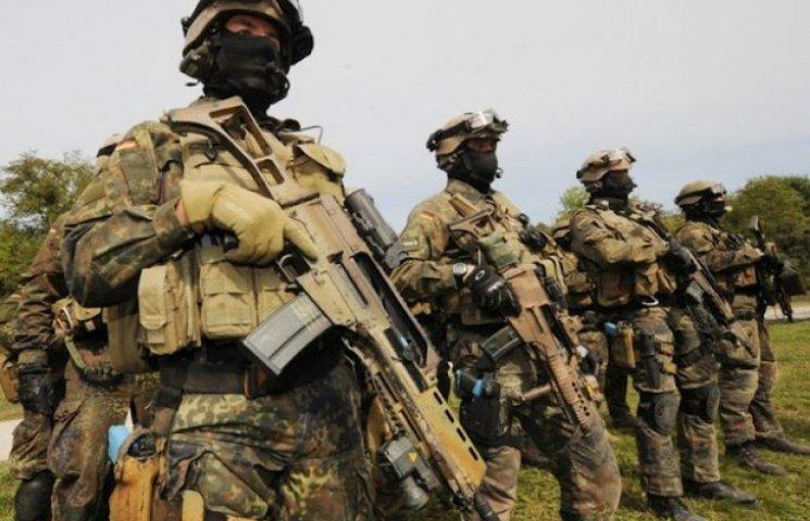 Германия может использовать свой спецназ на Донбассе