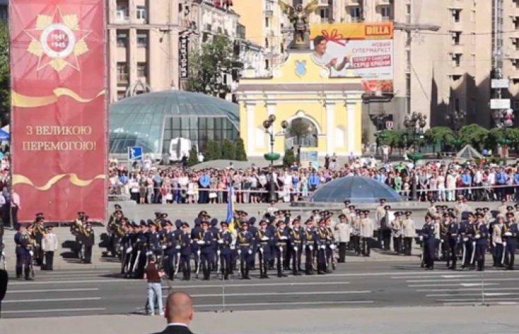 На 9 Мая в Киеве ждут военную технику