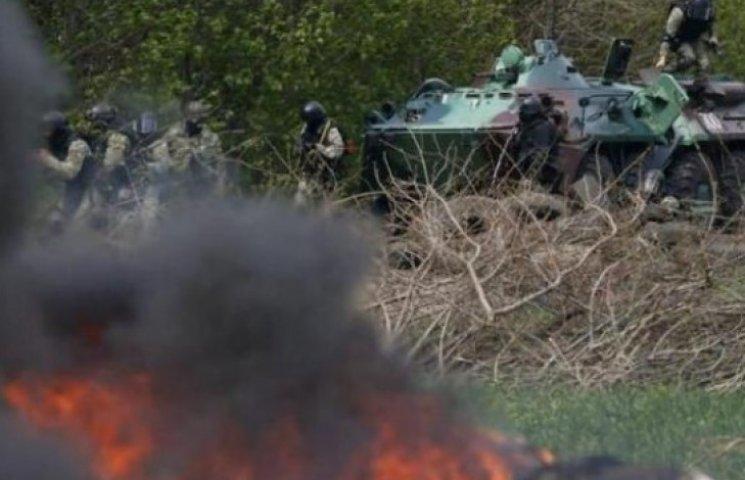 Сепаратисты в панике: в Славянск входять украинские войска