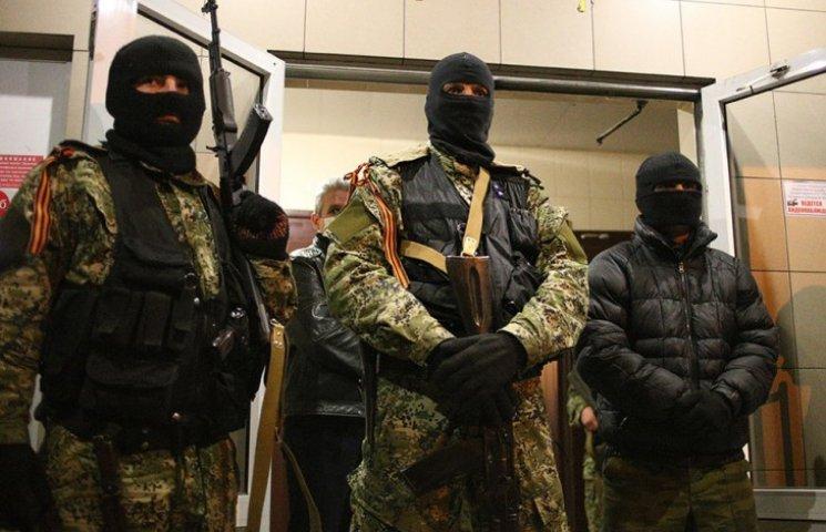 В Донецке захвачены еще налоговая и таможня
