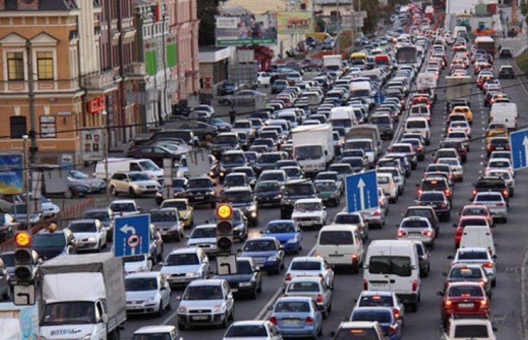 В Киеве становится трудно дышать