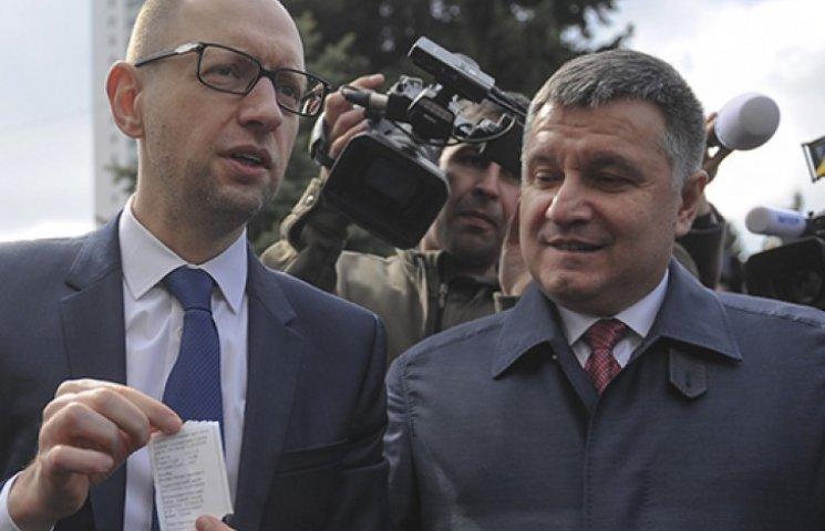 Поліцаї Авакова стануть головними піарниками Яценюка