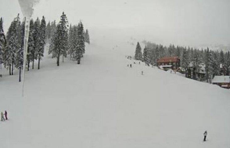 Лижникам на замітку: Курорти Закарпаття засипало снігом