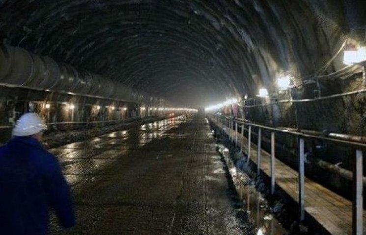 Бескидський тунель запрацює у 2017 році