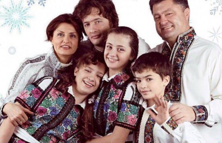 Марина Порошенко зізналась, що діти президента дають сольні концерти