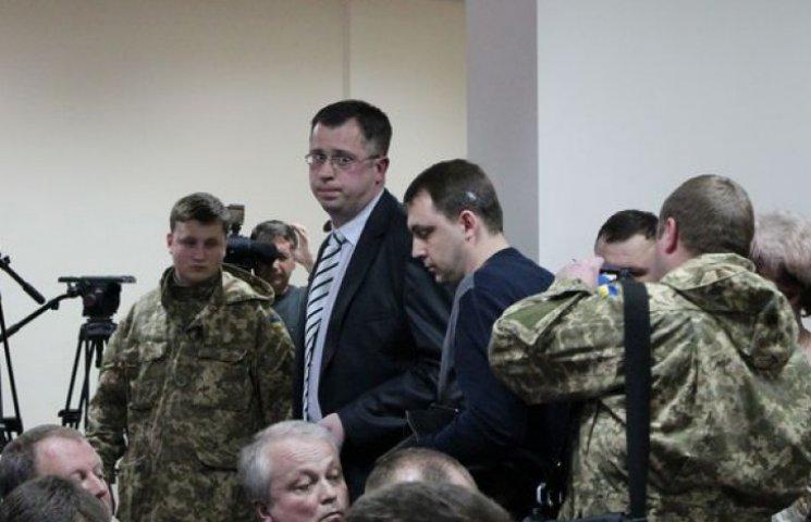Прокурор Краматорська під час арешту. Фото: Донбас.depo.ua