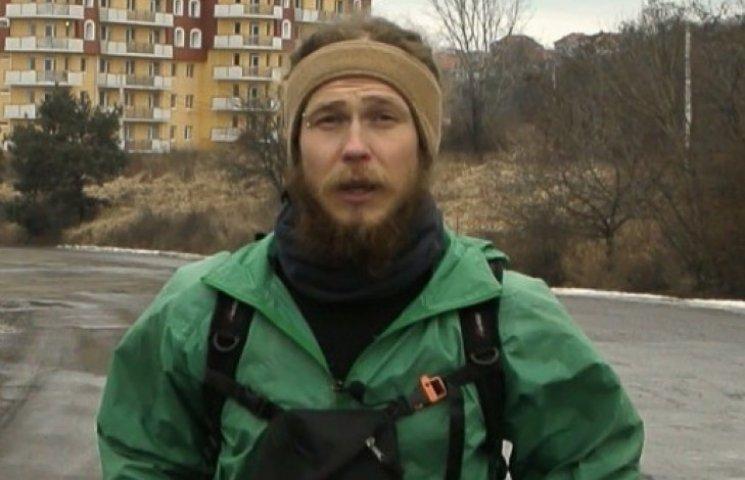 Закарпатець-бігун націлився на Книгу рекордів України (ВІДЕО)